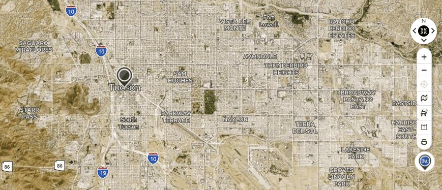 Mapquest Tucson
