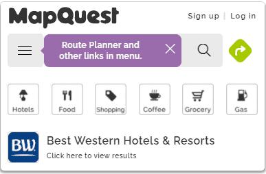 mapquest services